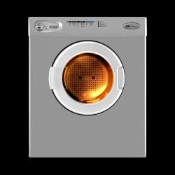 turbodry_ex_5.5kg_silver_clothes_dryer_fv