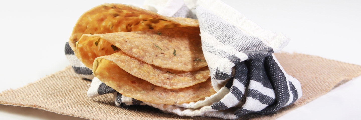 Chapati in Microwave