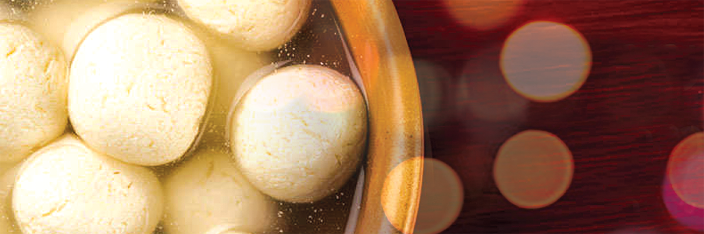 Rasgullas in Microwave