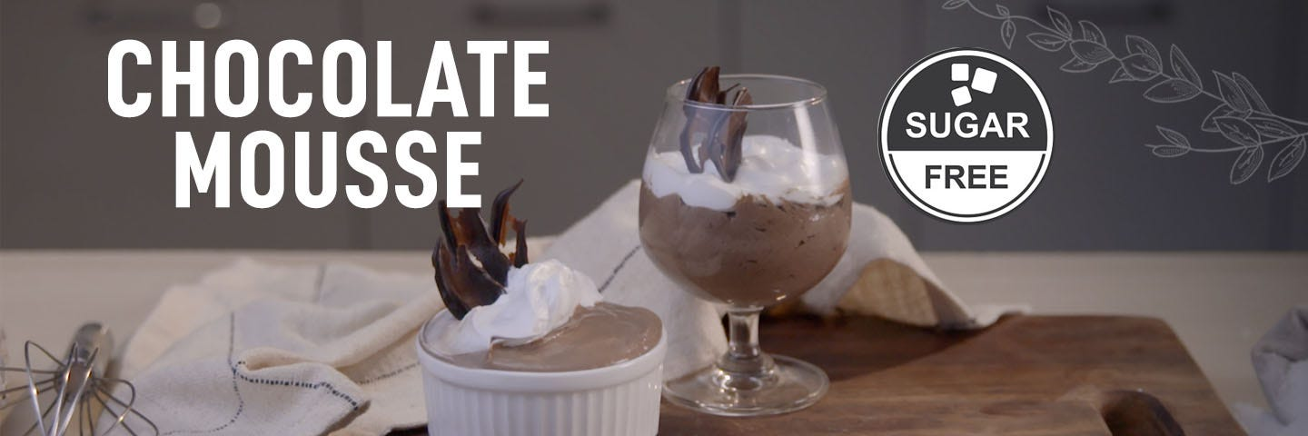 Chocolate Mousse in Microwave