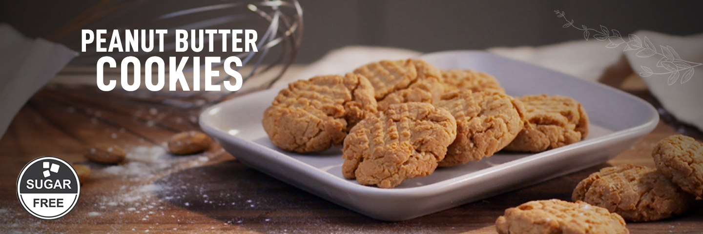 Peanut Butter Cookie in Microwave