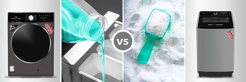 Powder vs. Liquid Laundry Detergent: What is Best?