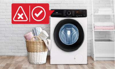 Washing Machine Dos and Don'ts
