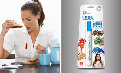 Fabo Stain Remover Pen  - Be Always Stains Ready