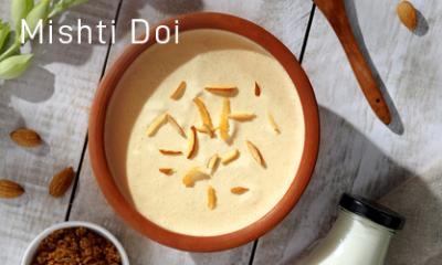 Mishti Doi in Microwave