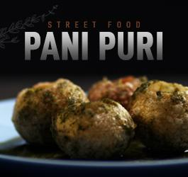 Pani Puri Recipe in Microwave