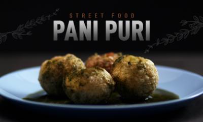 Pani Puri Recipe in Microwave