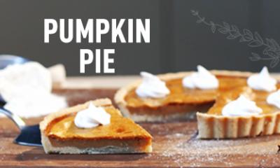 Pumpkin Pie in Microwave