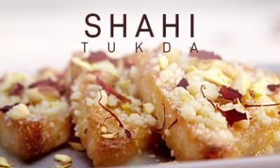 Shahi Tukda in Microwave