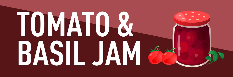 Tomato & Basil Jam Recipe